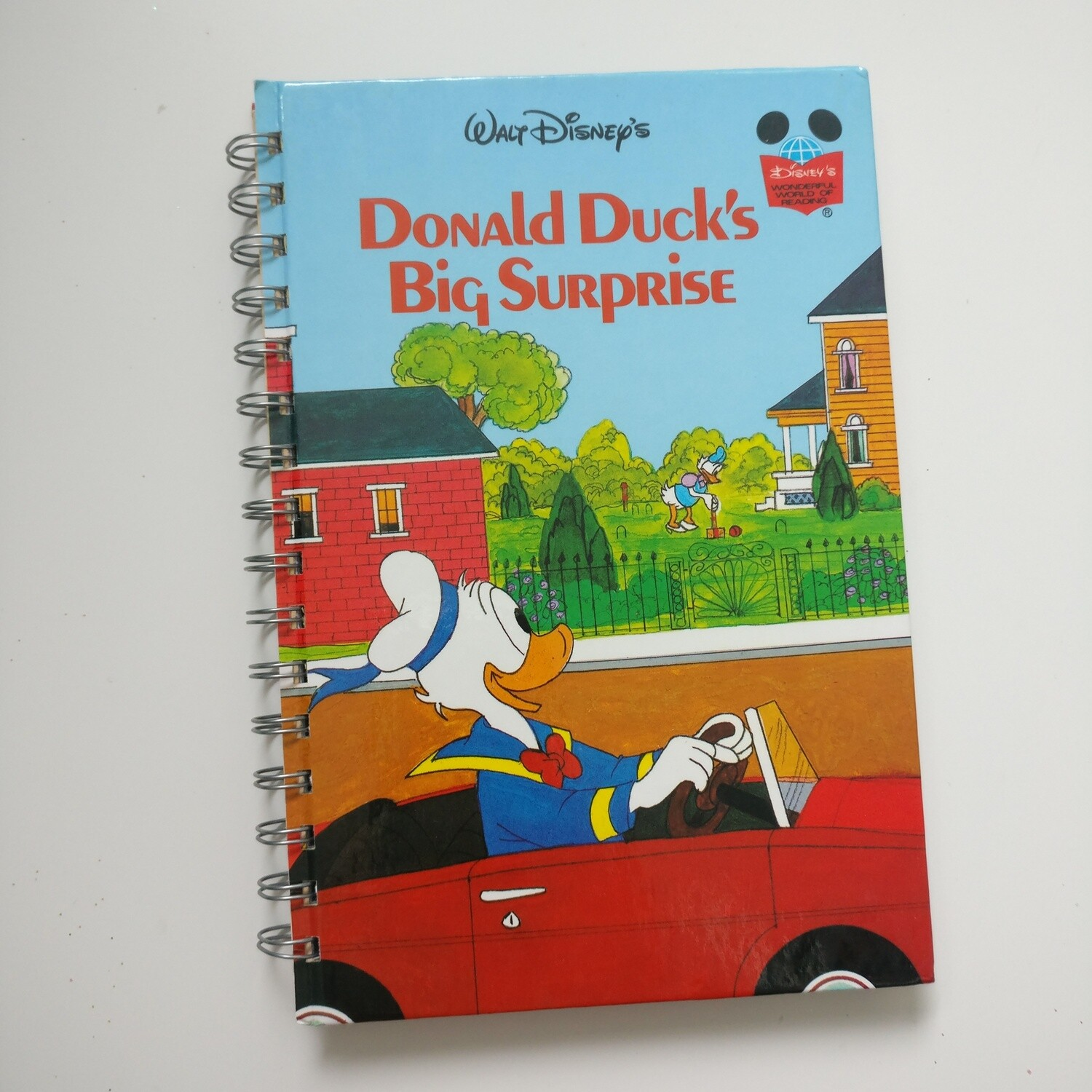 Donald Duck / Duck Tales Notebook - READY TO SHIP : plain and lined