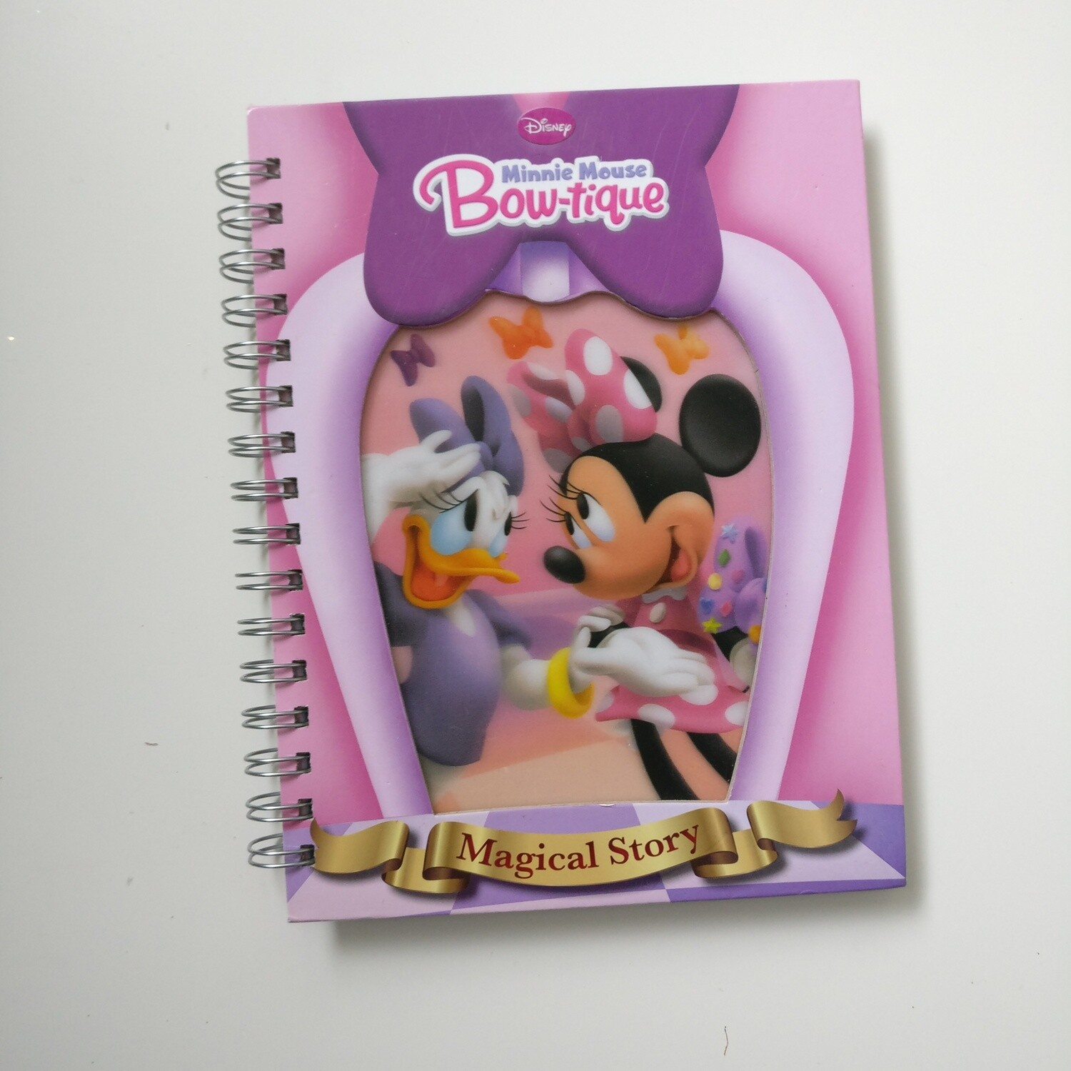 Minnie Mouse Bow-tique Lined Notebook - READY TO SHIP