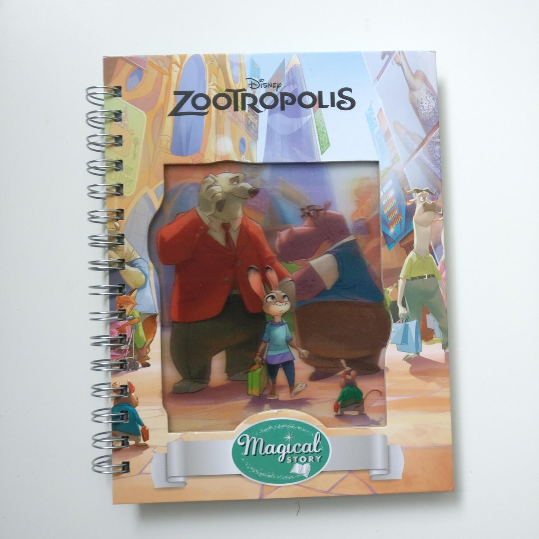 Zootropolis Diary Notebook - READY TO SHIP