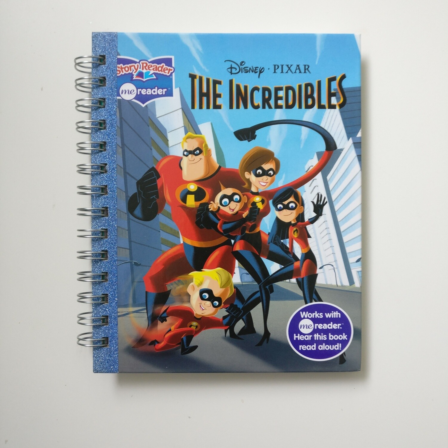 Incredibles Diary Notebook - READY TO SHIP