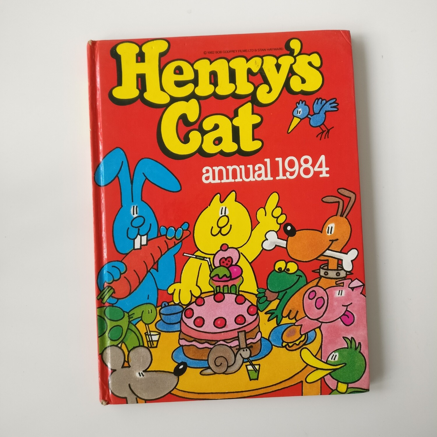 Henrys Cat Notebook