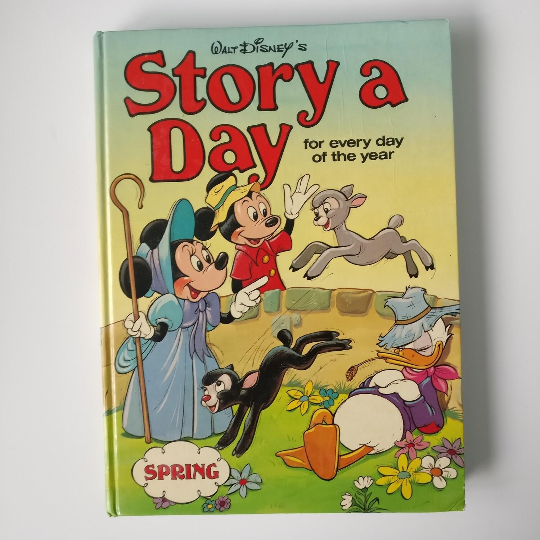 DIsney Story a Day - Spring, Summer, Autumn notebook