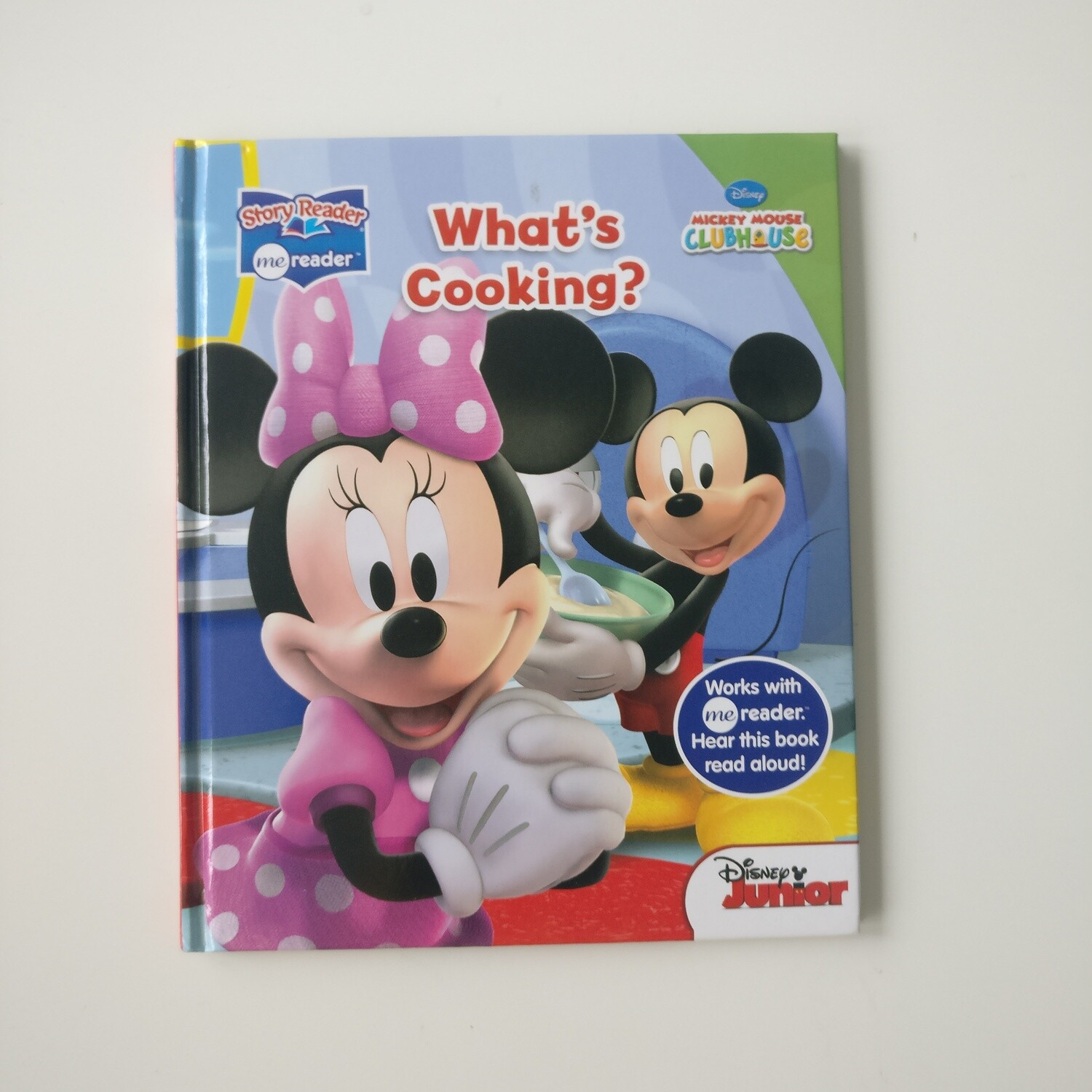 Minnie Mouse Notebook - cooking