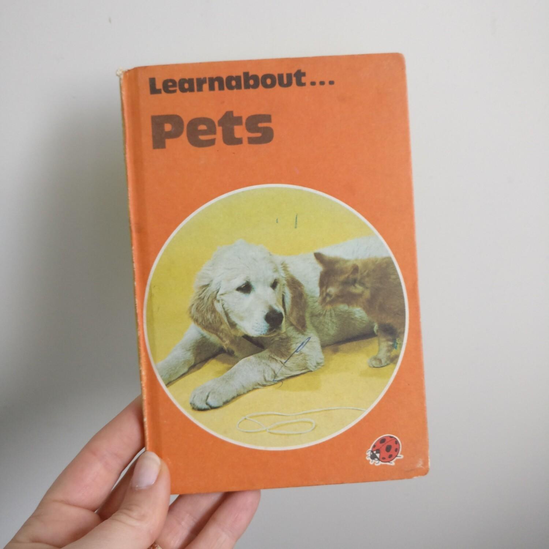 Pets Notebook - choice of Ladybird book covers , dog, cat, animals