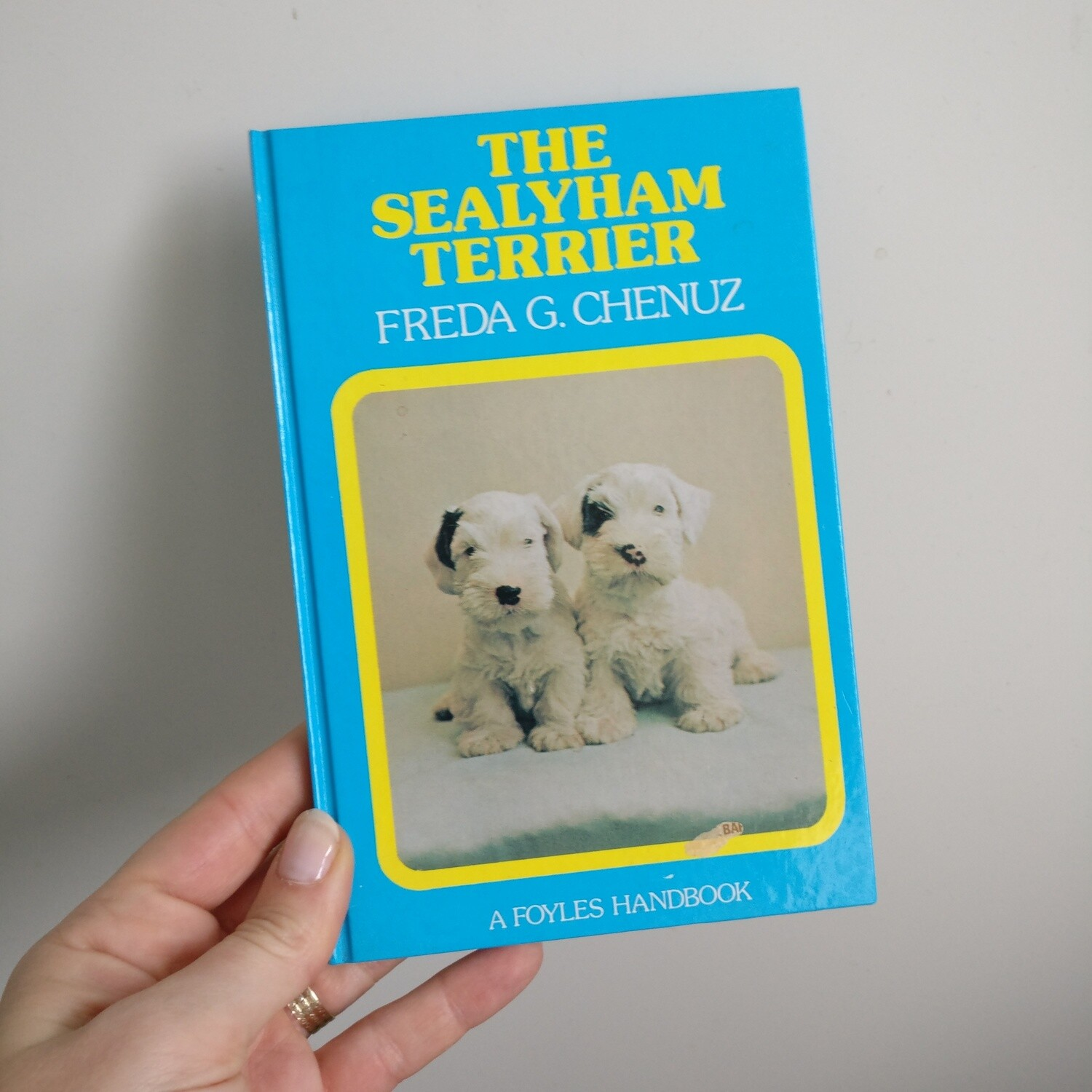 The Sealyham Terrier  Dog Notebook - Ladybird book - puppy