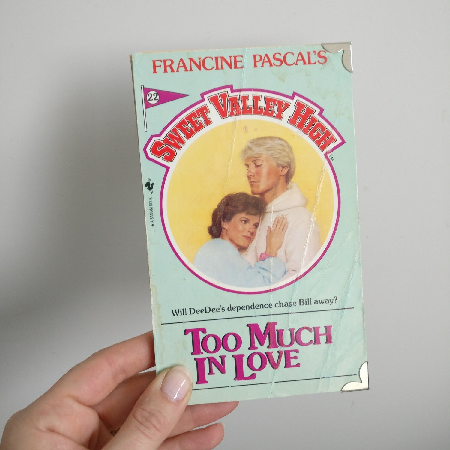Sweet Valley High Notebook - made from a paperback book