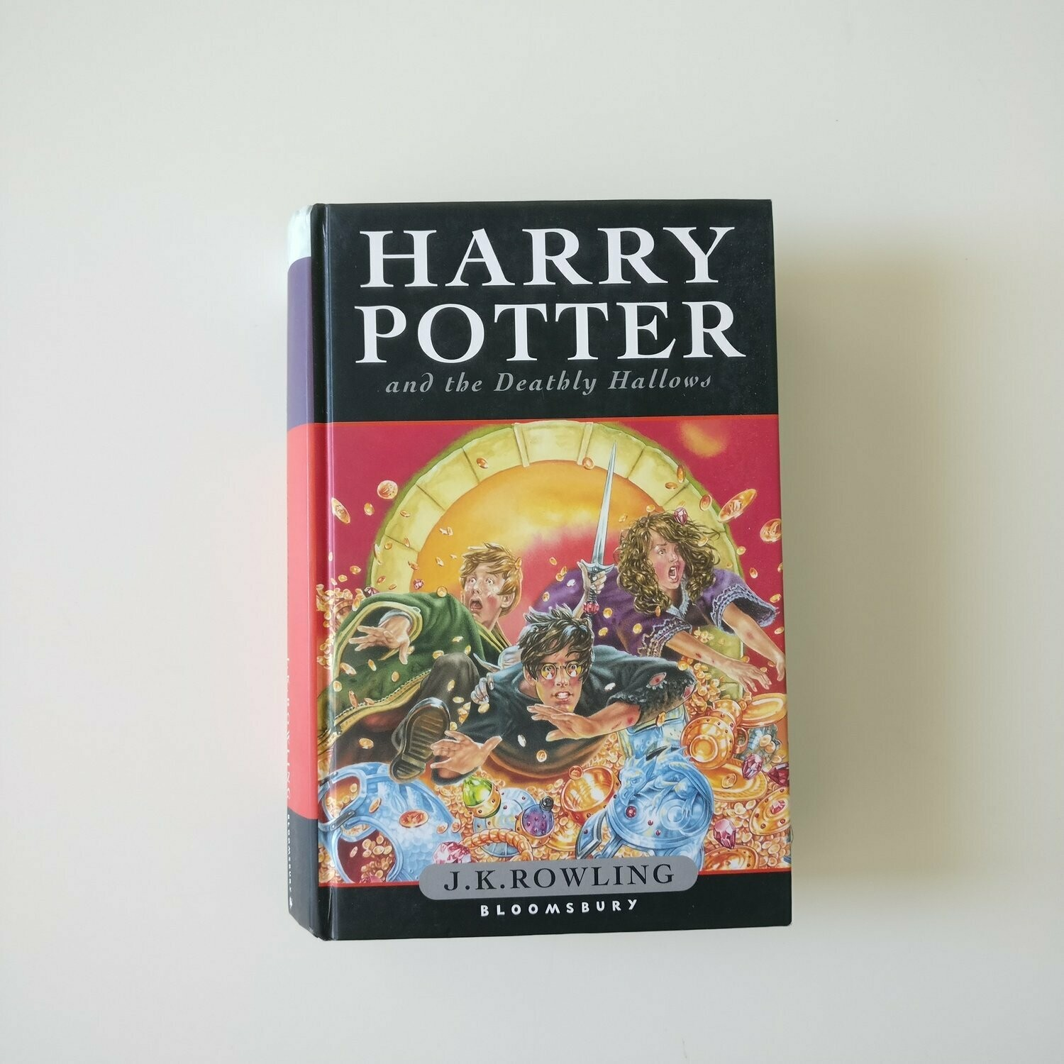 Harry Potter and the Deathly Hallows Notebook