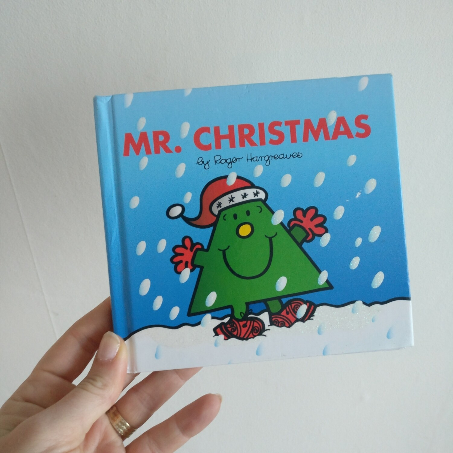 Mr Men - Mr Christmas Notebook - glitter