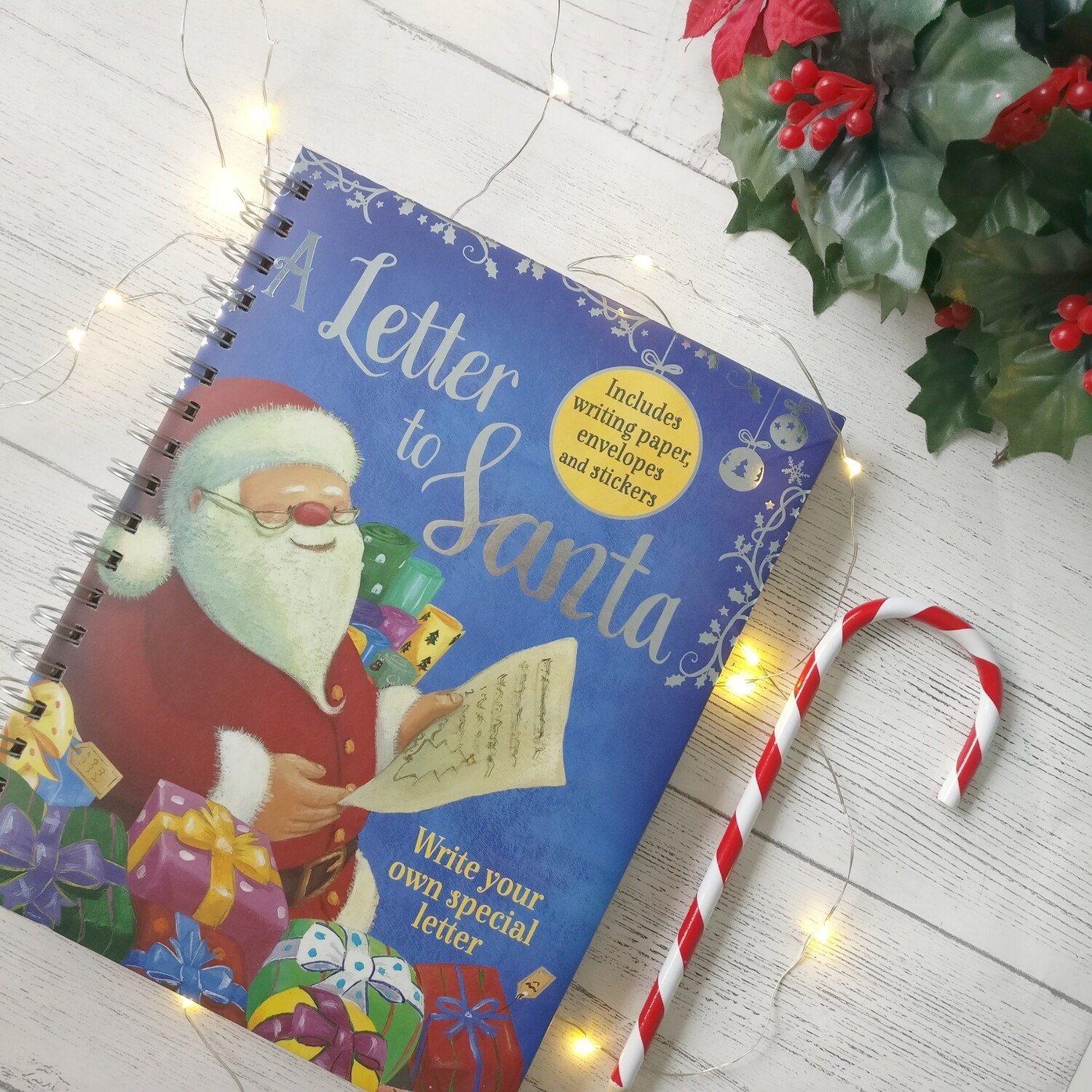 Letter to Santa Notebook Christmas