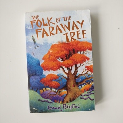 Folk of the Faraway Tree Notebook Enid Blyton made from a paperback book