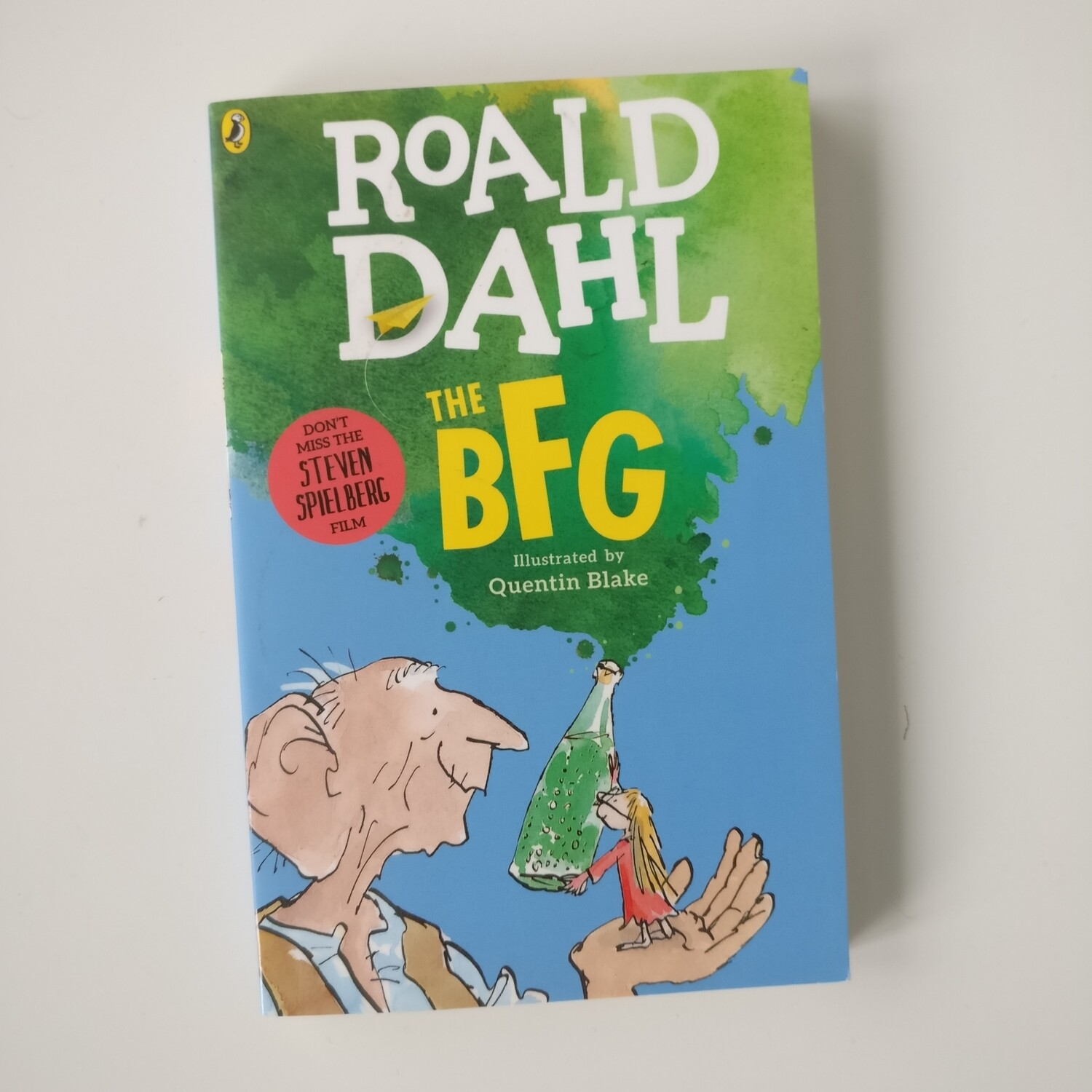 The BFG by Roald Dahl Notebook - made from a paperback book