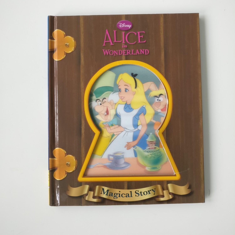 Alice in Wonderland  Notebook - Lenticular Print