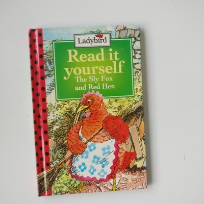 Th Sly Fox and  Red Hen Notebook - Ladybird Book