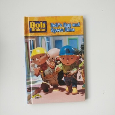 Bob the Builder Egg and Spoon Race Notebook