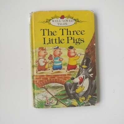 Three Little Pigs Notebook - Ladybird book