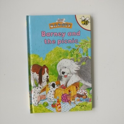 Barney and the Picnic Notebook - Ladybird book - sheepdog, dog