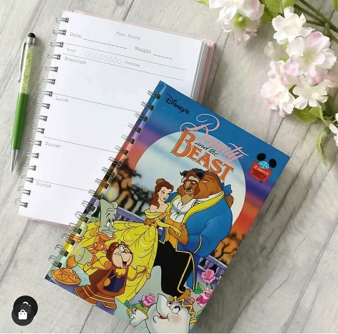 Beauty and The Beast Notebook