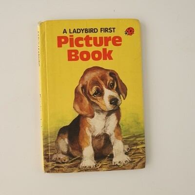 Dog picture book Notebook - Ladybird book