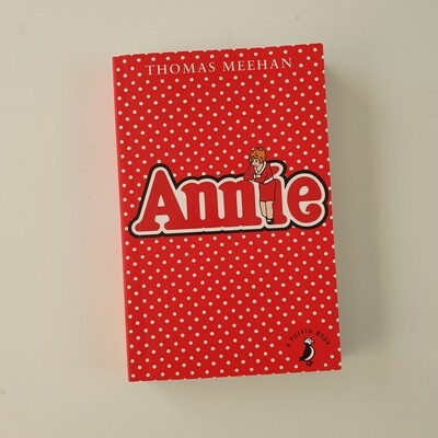 Annie Notebook - made from a paperback book