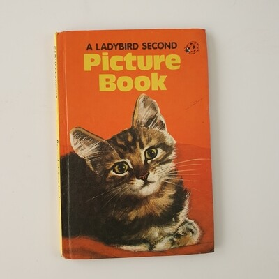 Cat picture book Notebook - Ladybird book