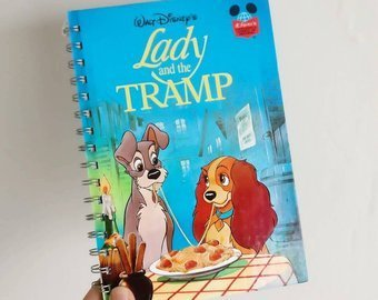 Lady and The Tramp Notebook