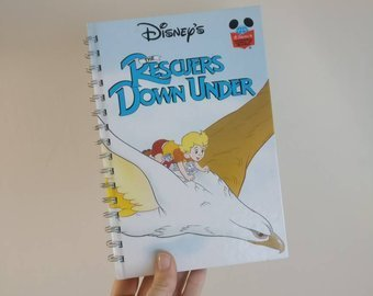 Rescuers Down Under Notebook