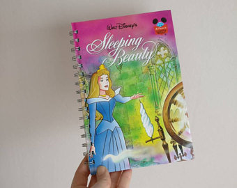 Sleeping Beauty Notebook