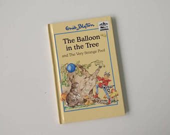 The Balloon in The Tree Notebook Enid Blyton