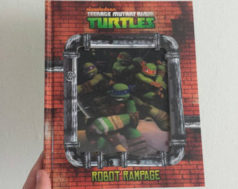 Teenage Mutant Turtles Notebook - Lenticular Print