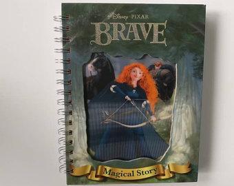 Brave Notebook - Lenticular Print