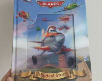 Planes Notebook - Lenticular Print