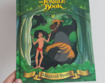 Jungle Book Notebook - Lenticular Print