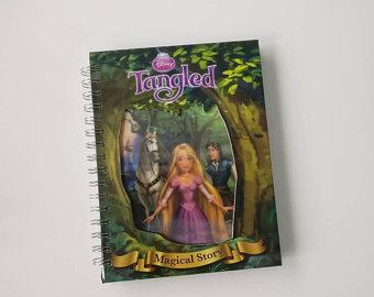Tangled Notebook - Lenticular Print