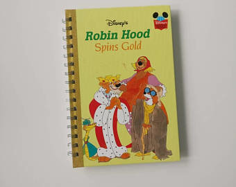 Robin Hood Notebook - Spins Gold