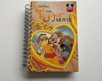 The Tigger Movie Notebook