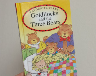 Goldilocks and the Three Bears Notebook