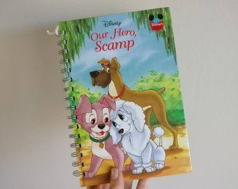Lady & The Tramp Notebook - Our Hero, Scamp