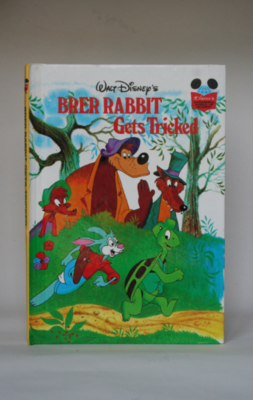Brer Rabbit Notebook - Gets Tricked