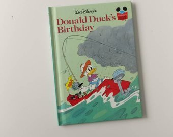 Donald Duck's Birthday Notebook