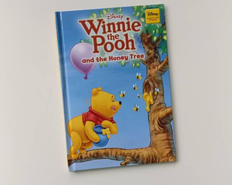 Winnie the Pooh Notebook - and the Honey Tree