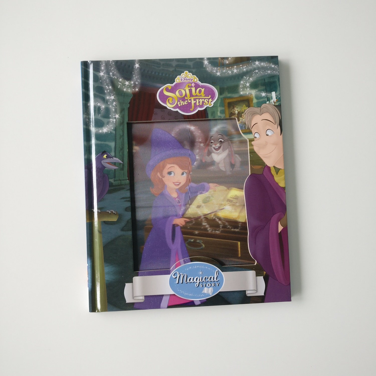 Sofia the First Wizard Notebook - Lenticular Print / Magic