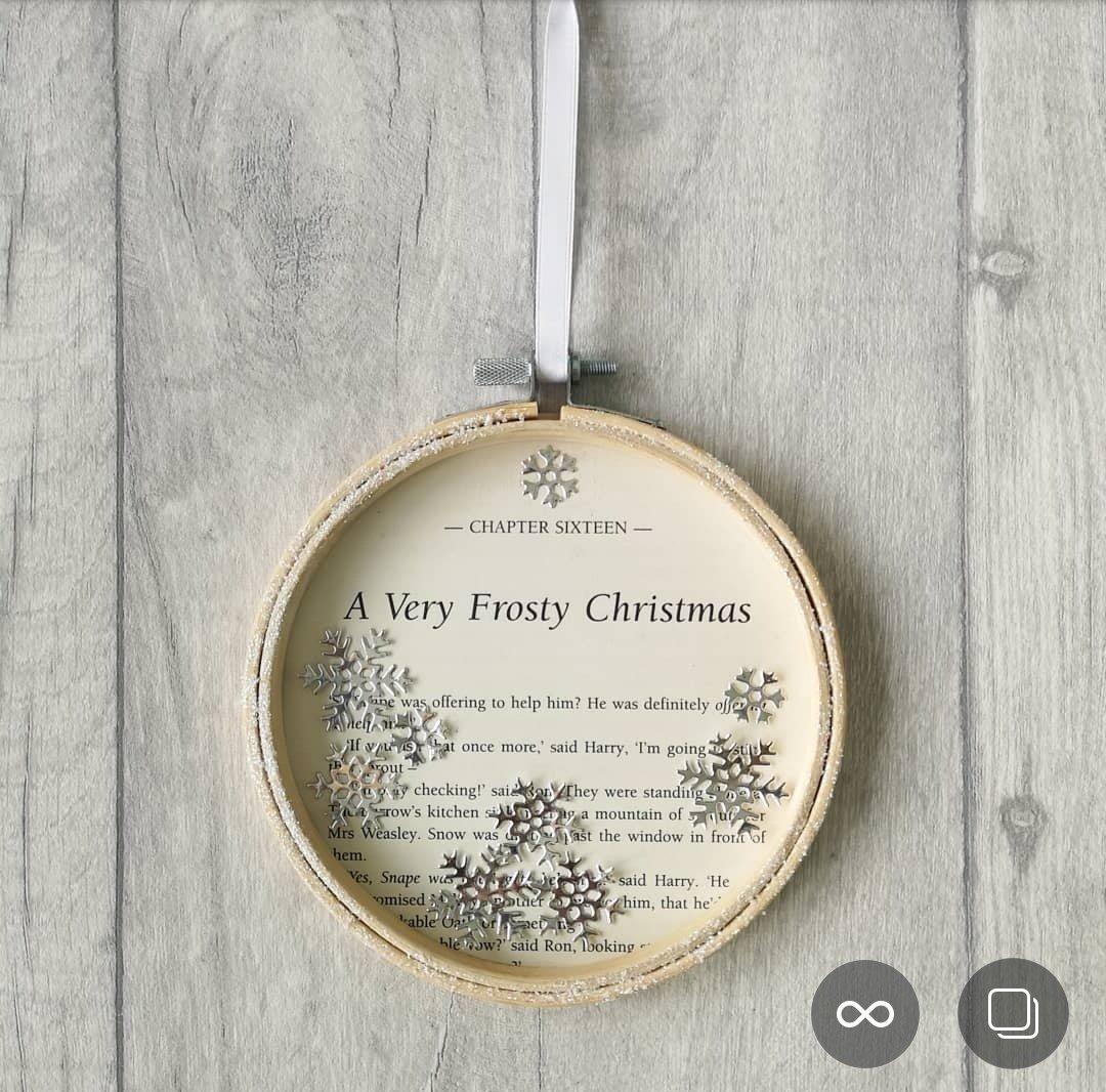 Harry Potter Frosty Christmas Decoration - 13cm