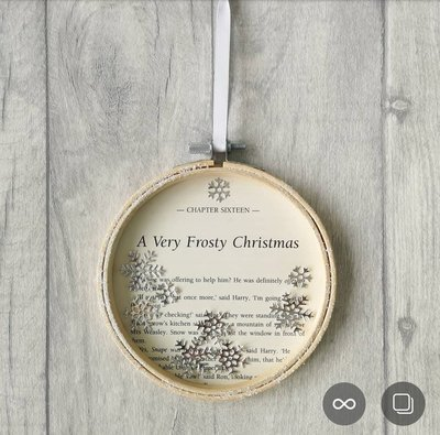 Harry Potter Frosty Christmas Decoration - 13cm