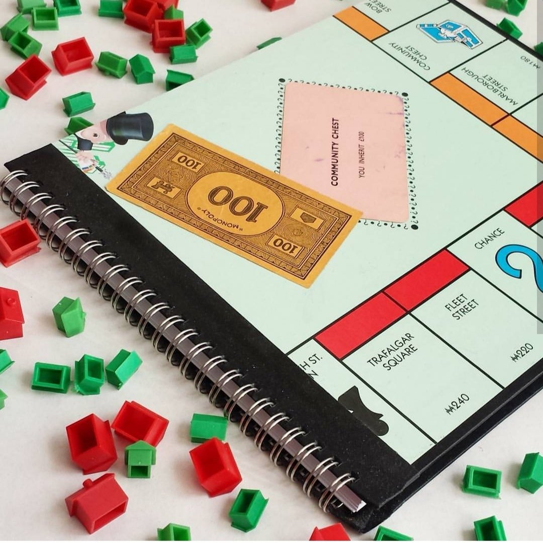 Monopoly Notebook