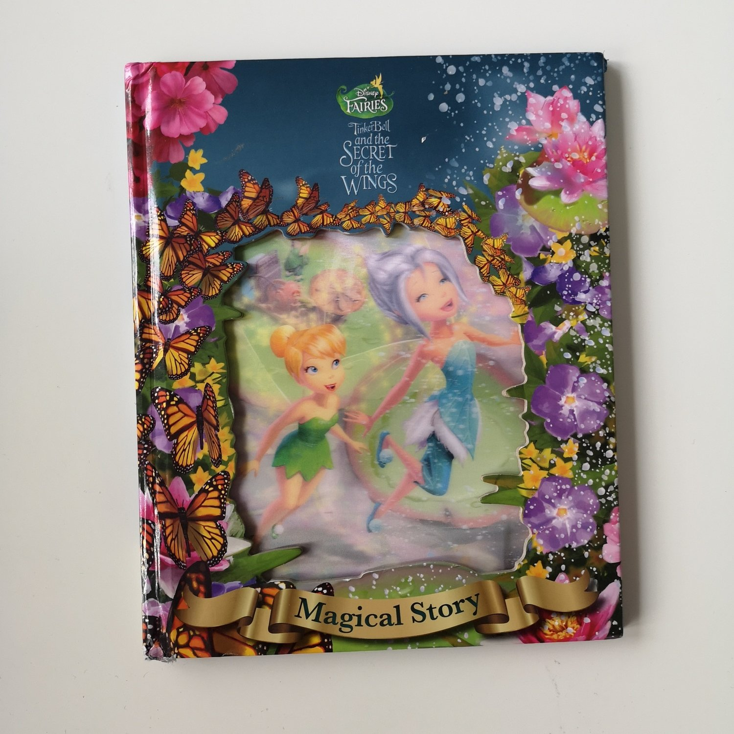 Tinkerbell Secret of the Wings Notebook - Lenticular Print