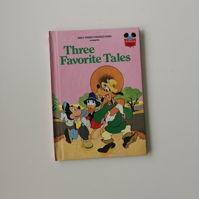Three Favourite Tales Notebook - Mickey, Donald, Goofy