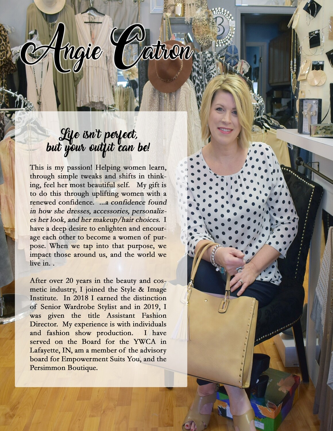 Styling My Way - Strength & Joy..through your style
