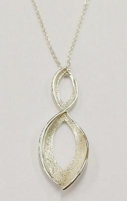 Kit Heath sterling silver pendant