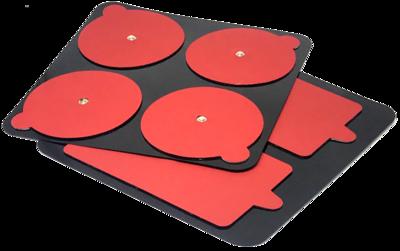 Электроды для PowerDot 2.0, красные