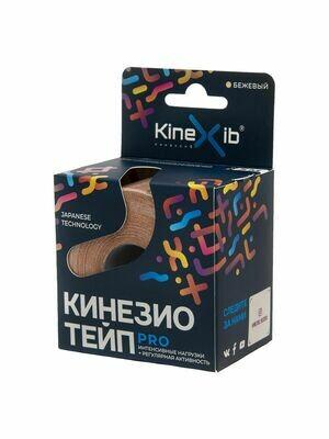 Тейп Kinexib Pro, 5см х 5м, телесный